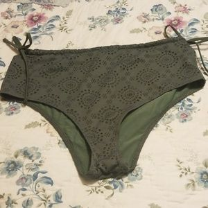 High Waisted Swim Bottom